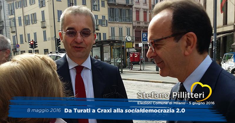 Da Turati a Craxi alla socialdemocrazia 2.0 - 8 maggio 2016